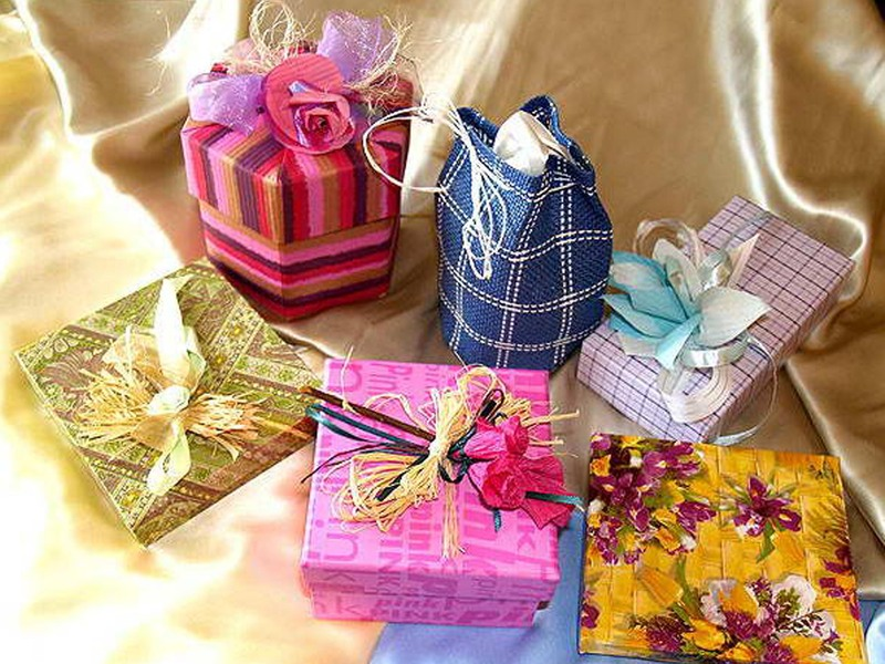 Подарки своими руками уроки фото