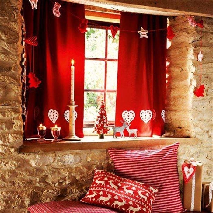 Красивые украшения для комнаты на новый гМебель