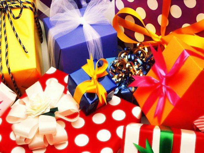 Выбери себе подарок на День рождения!