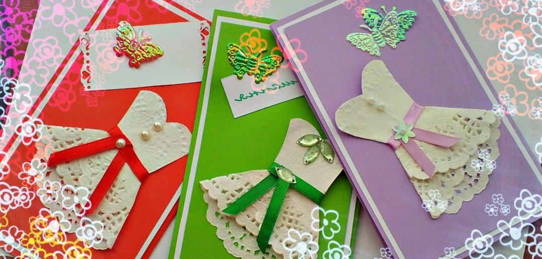 Открытки своими руками для девочки 12 лет, музыкальные открытки