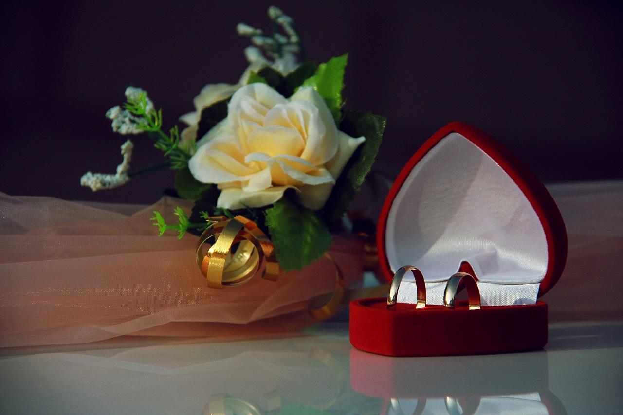 Бархатная свадьба открытка