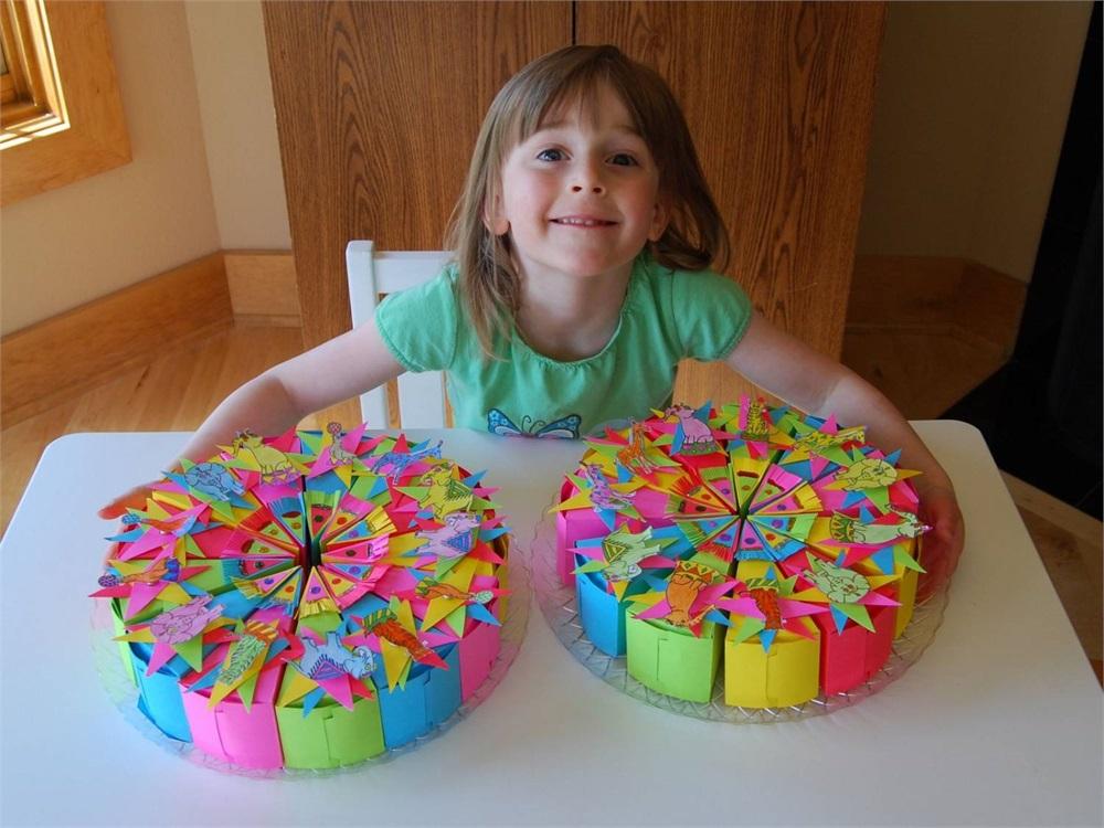 Подарок на день рождения ребенку своими руками в детском саду