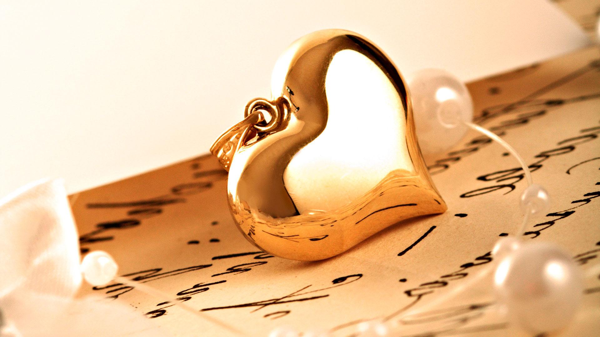 Кулон в виде сердца загрузить