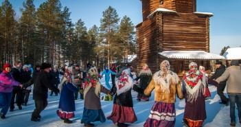 Новый год в Архангельске 2016