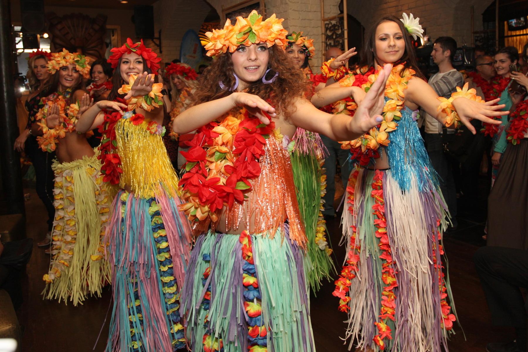 вечеринка в гавайском стиле сценарий в сауне