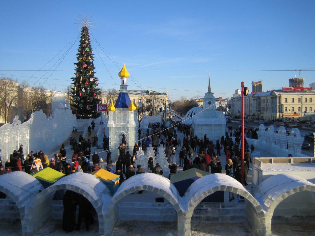 Новый год в Екатеринбурге 2017