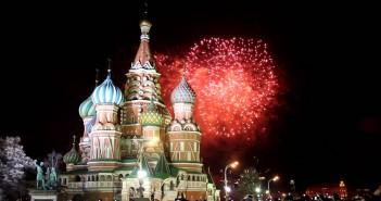 Cалют на Новый год 2016 в Москве