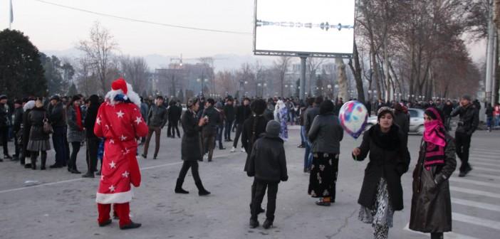 Новый год в Узбекистане 2016