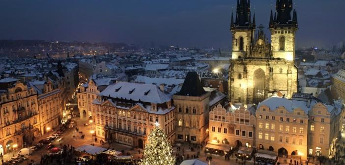 Новый год 2016 в Праге
