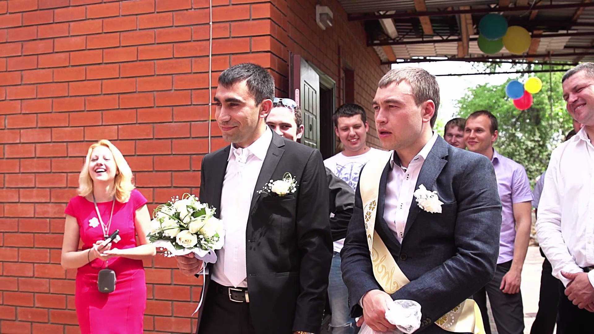 Сценарий выкуп невесты видео
