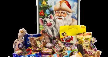 Правила выбора корпоративных сладких новогодних подарков