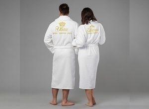 Комплект халатов с вышивкой, фото