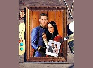 Парный портрет по фото Сказочная пара