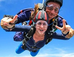 Прыжок с парашютом, фото