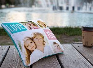 Подушка с личными фото