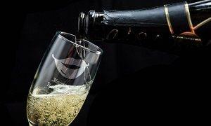 Именной бокал для шампанского