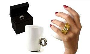 Кружка с кольцом, фото