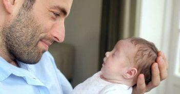 Отец новорожденной, фото