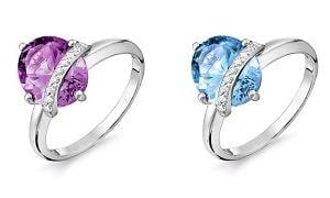 Серебряное кольцо, фото