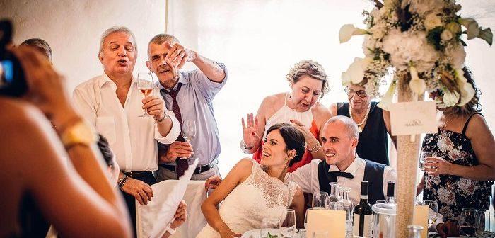 Сваты на свадьбе, фото