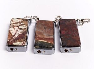 Зажигалки из натуральных камней, фото