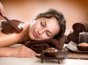 Шоколадный скраб для тела, фото
