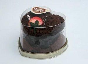 Торт-полотенце Сердечко, фото