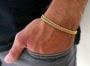 Золотой браслет, фото