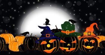 Светильник Джек на Хэллоуин