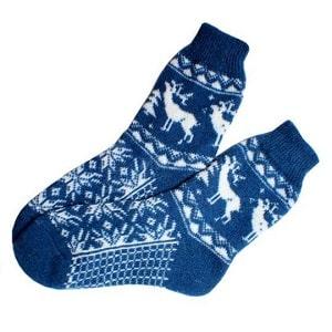 Носки с оленями, фото