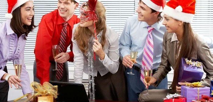 Новогодние подарки коллегам, фото