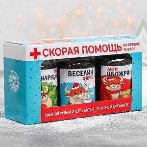 Новогодняя аптечка