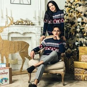 Рождественский свитер, фото