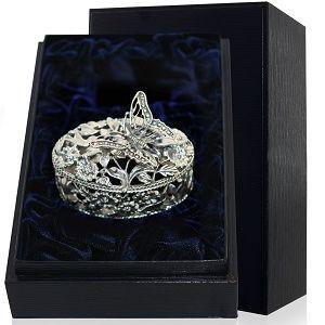 Серебряная шкатулка, фото
