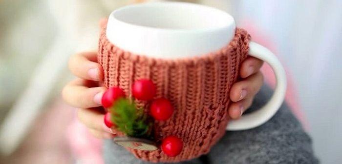 Чашка в чехле, фото