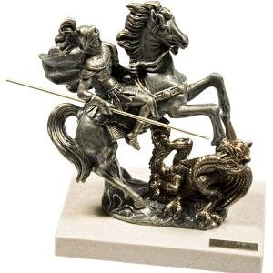 Скульптура Георгий Победоносец, фото