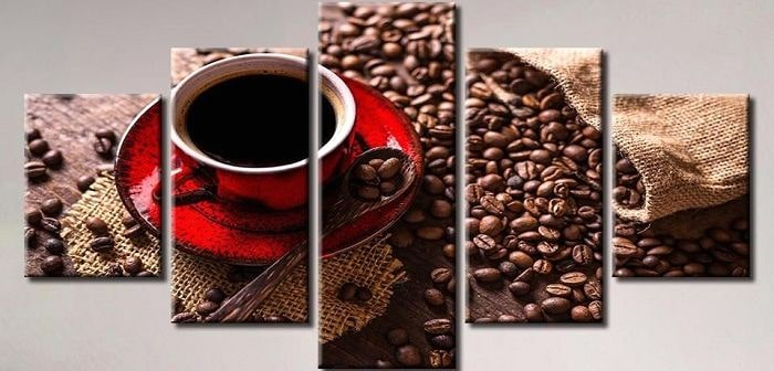 Картина кофе, фото