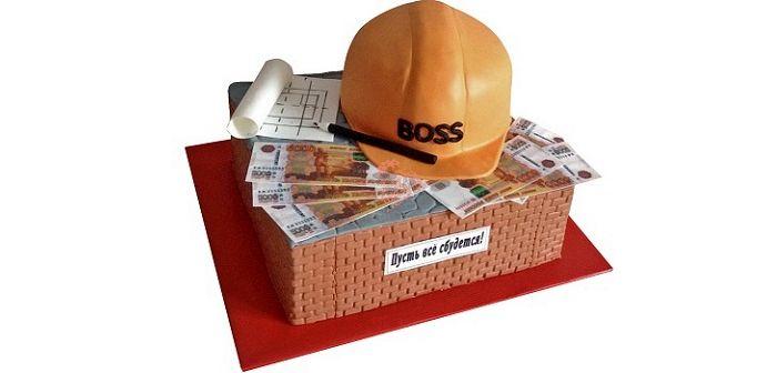 Корпоративный торт, фото