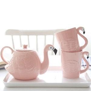 Чайный набор Фламинго, фото