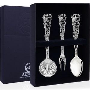 Чайный набор из серебра, фото