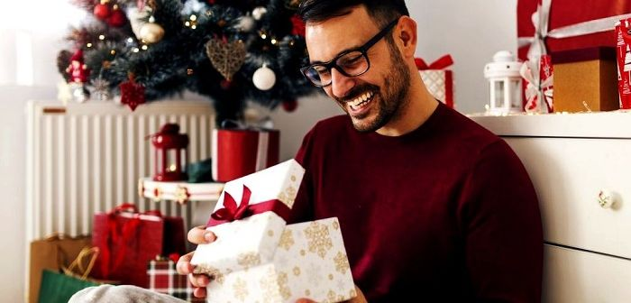 Новогодний подарок мужчине, фото