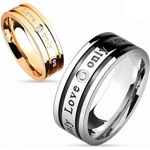 Парные стальные кольца, фото