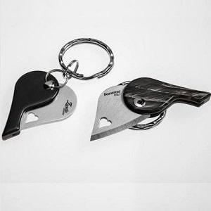 Брелок-нож Сердце, фото