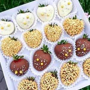 Фрукты в шоколаде, фото