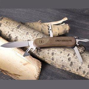 Именной швейцарский нож, фото