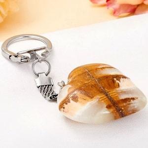 Брелок Каменное сердце, фото