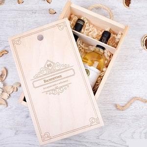 Коробка для вина Юбилейная, фото