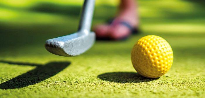 Мини-гольф, фото