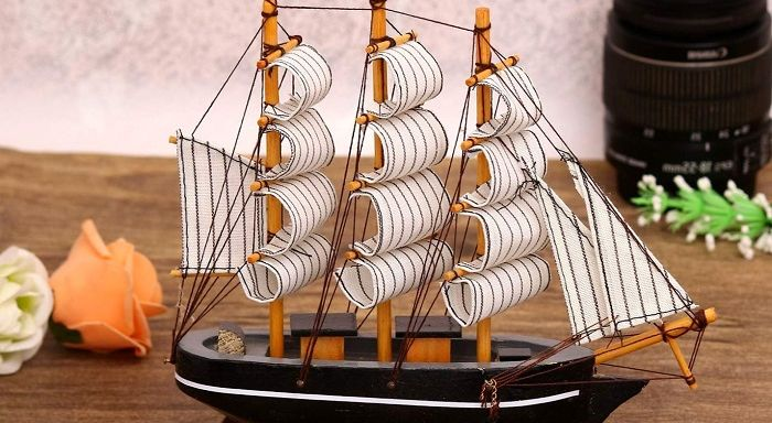Модель корабля, фото