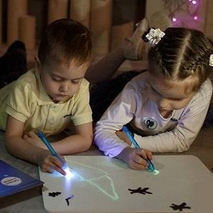Набор для рисования в темноте, фото